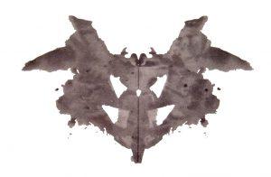 Rorschach Testi Kartlarından Bir Örnek