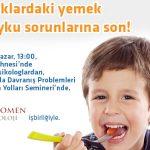 Çocuklarda Davranış Sorunları ve Çözüm Yolları-Ücretsiz Seminer