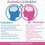 Kadın ve Erkek Arasındaki Farklar-İnfografik
